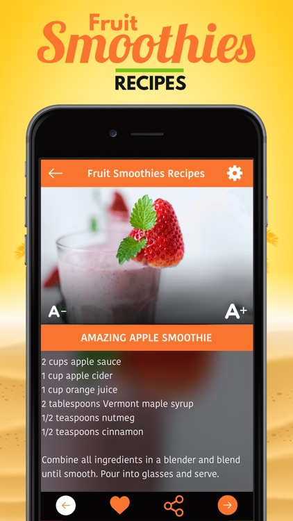 Fruit Smoothies Recipes screenshot-3