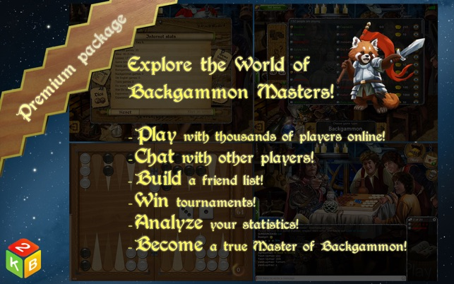 Backgammon Masters Online on the Mac App Store