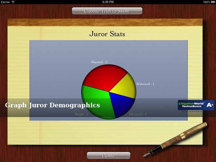 iJuror screenshot-1