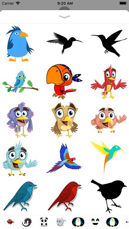 Bird Stickers - 2018