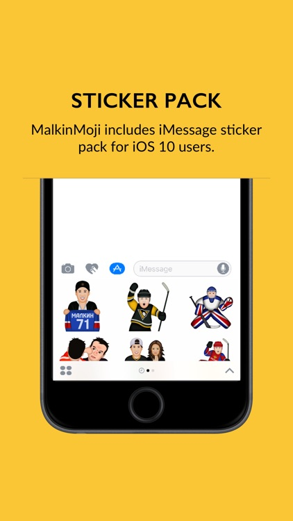 MalkinMoji by Evgeni Malkin screenshot-3