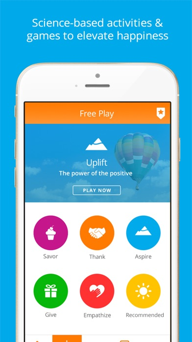 Happify — Activities & Games for Stress & Anxiety app image
