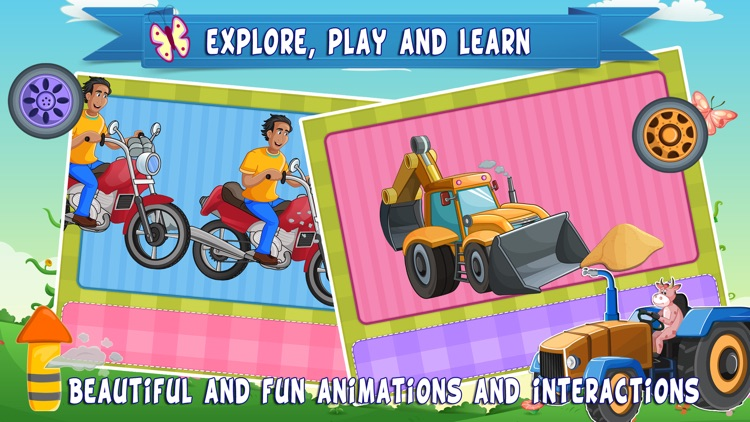 Trucks World Count and Touch- Toddler Counting 123 for Kids screenshot-4