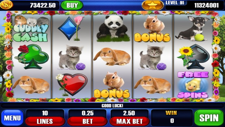 Cuddly Cash Slots