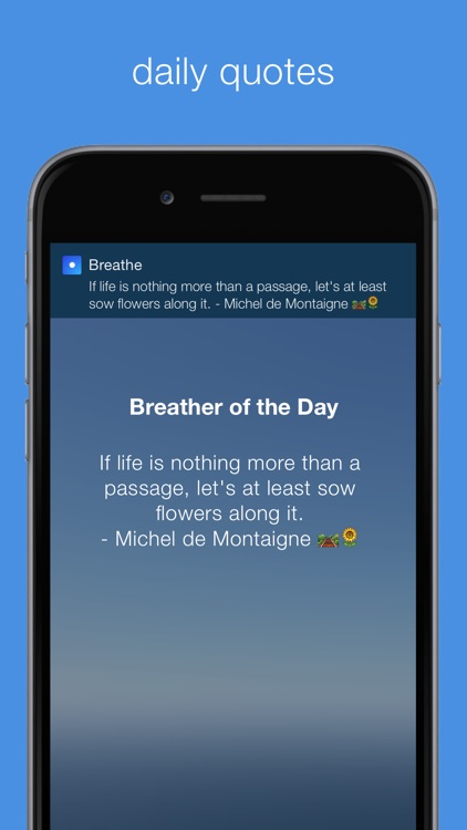 Breathe | Calming Reminders For Mindful Breathing screenshot-4