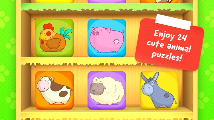 Toddler Animal Puzzle – Game for children (Free)