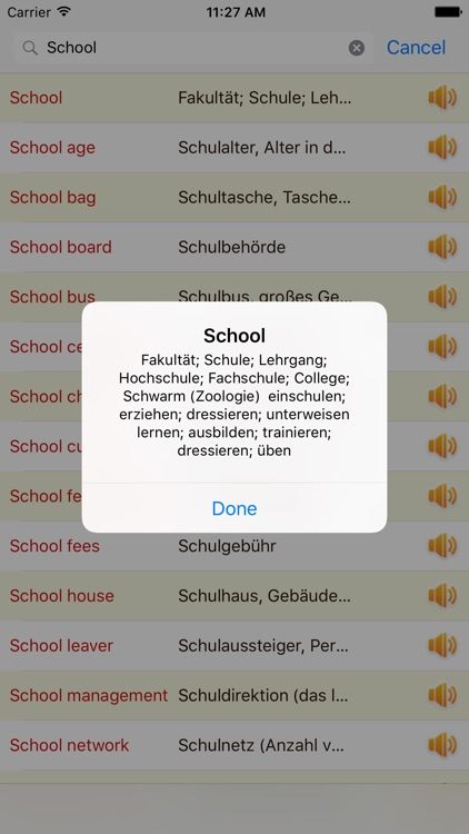 English German Dictionary Offline Free screenshot-2