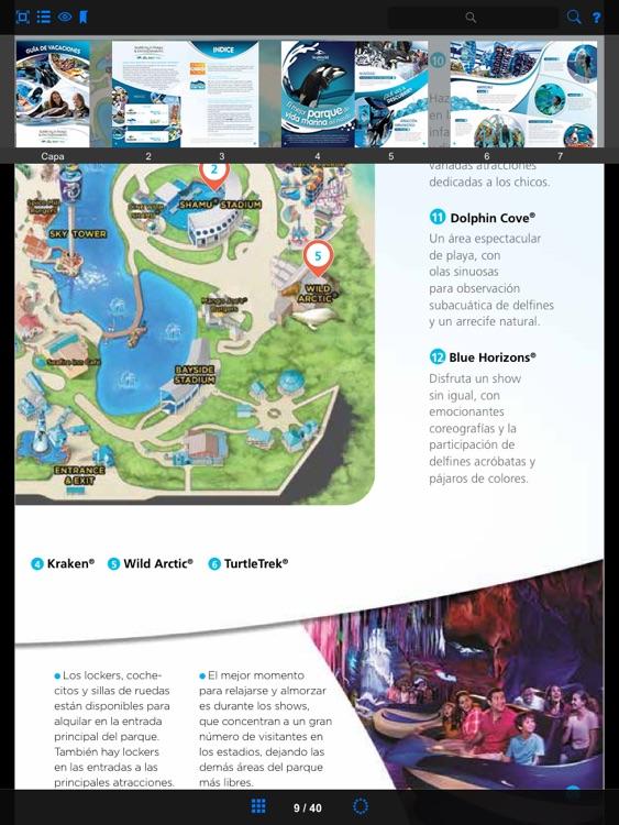 Guía SeaWorld Parks (Español) screenshot-3
