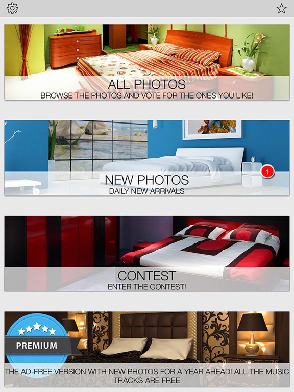 Bedrooms. New design ideas from professionals screenshot