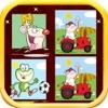 Animals memory game - Animal Pairs