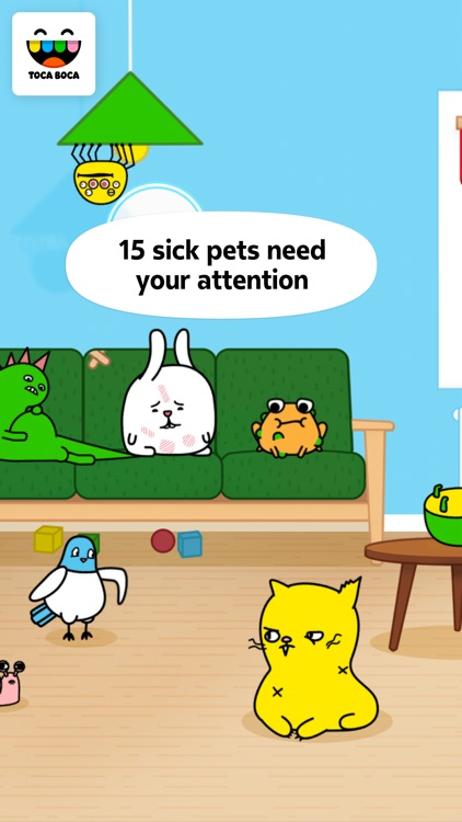 Toca Pet Doctor screenshot-1
