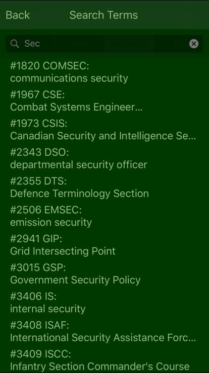 Military Terms & Acronyms screenshot-3