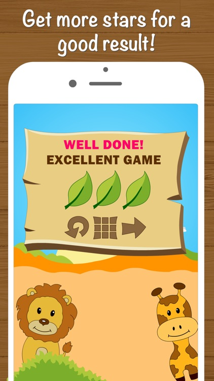 Safari Math Free - Addition and Subtraction game for kids screenshot-4