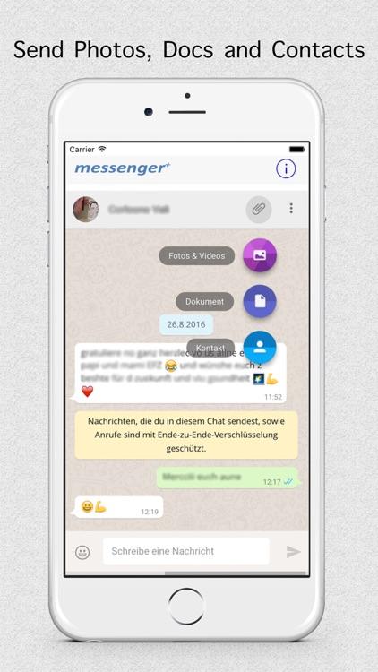 Messenger+ for WhatsApp screenshot-3