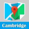 剑桥旅游指南地铁零流量去哪儿英国世界地图 Cambridge metro gps map guide