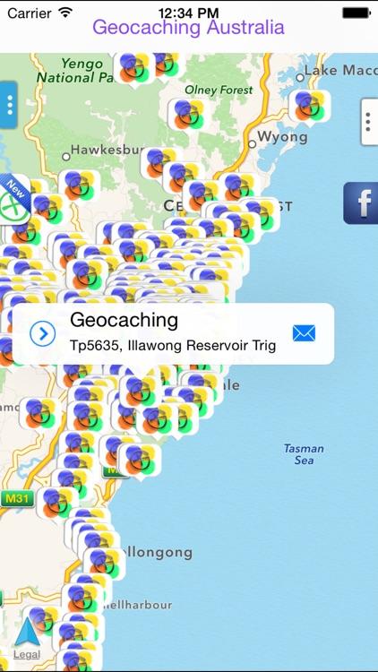 Geocaching Australia