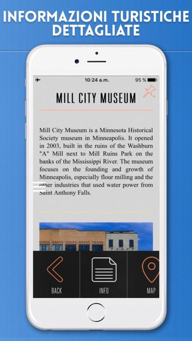 Screenshot of Minneapolis Guida Turistica con Mappe Offline3