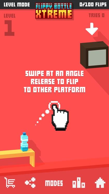Flippy Bottle Extreme! - Lava Modes! screenshot-3