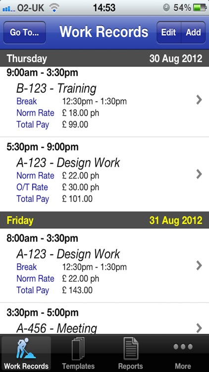 Pay Diary Pro screenshot-0