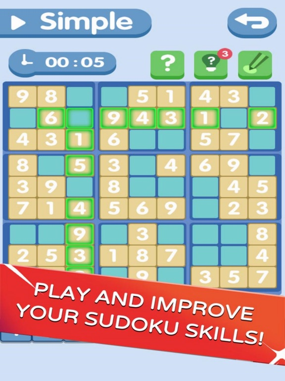 Sudoku!Level Brain screenshot 4