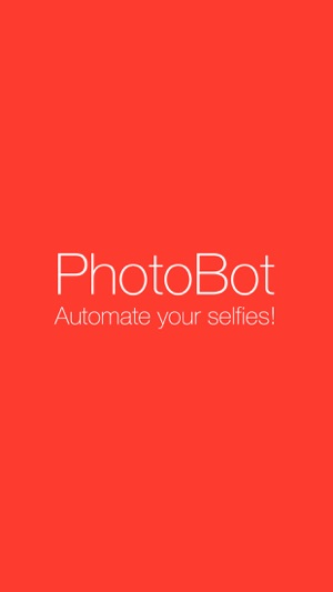 PhotoBot - Take automated selfies Screenshot