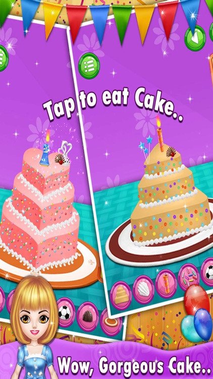 Birthday Cake Maker - Crazy Cooking Adventure! screenshot-3