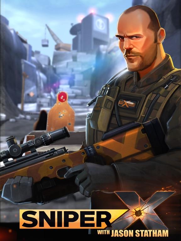Игра Sniper X with Jason Statham