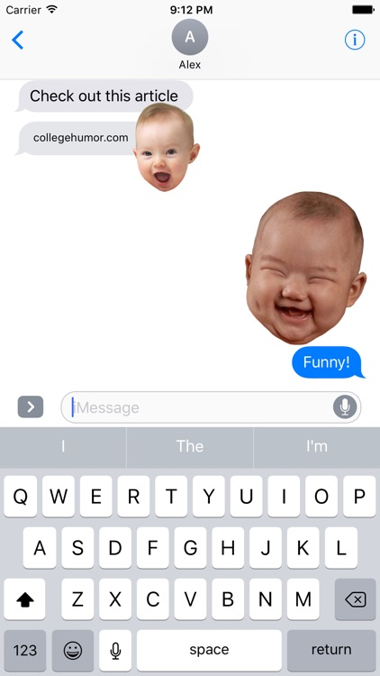 BabyFaceMOJI screenshot-3