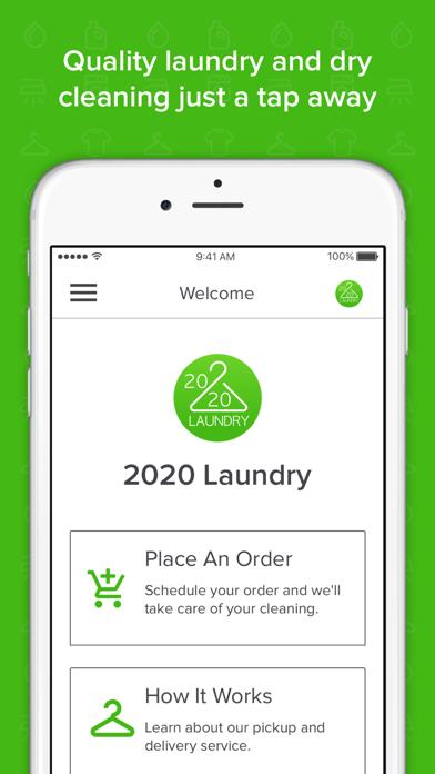 2020 Laundry screenshot one