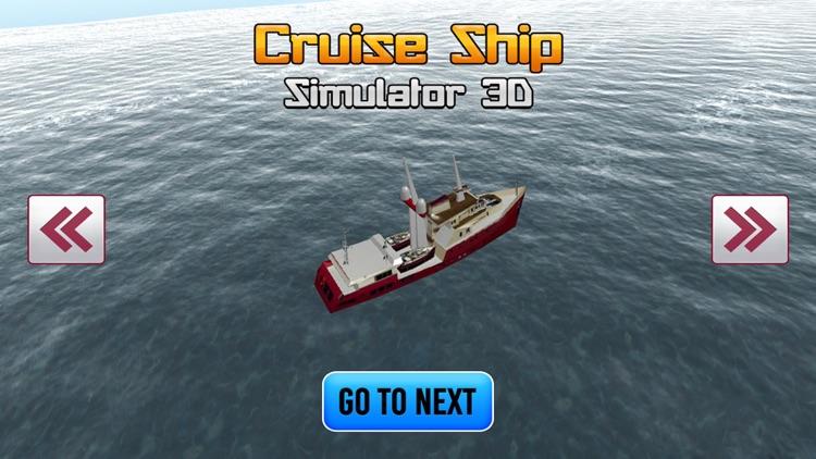 Cruise Ship Simulator 3D Games screenshot-3