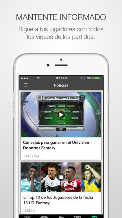 Univision Deportes Fantasy screenshot-2