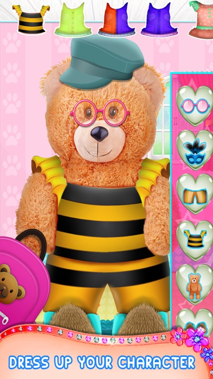 Teddy Bear Makeover - A Animal Makeup & Dress-up Game