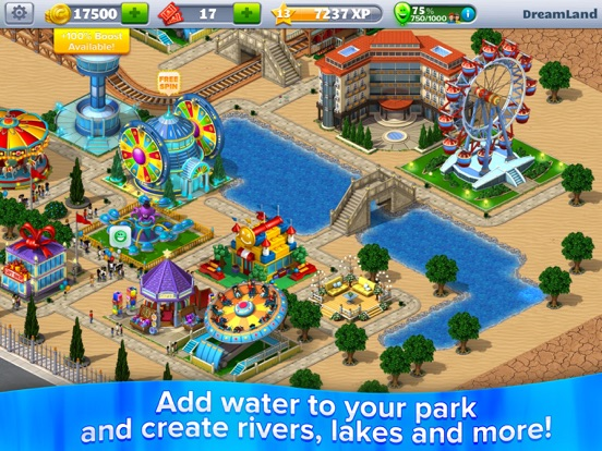 RollerCoaster Tycoon® 4Mobile™   App Price Drops