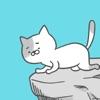 激ムズアクションゲーム!崖の上の猫
