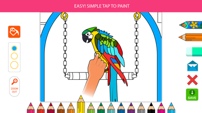 Inky Treasure - Coloring Book for Adults screenshot one