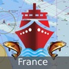 i-Boating:France Marine/Nautical Charts & Maps