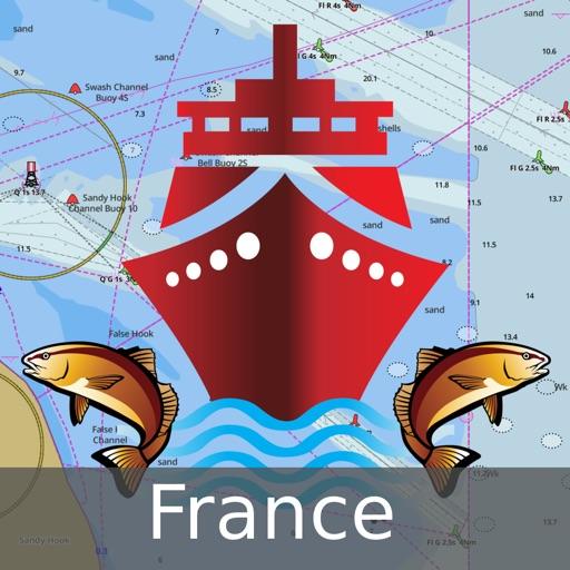 i-Boating:France Marine/Nautical Charts & Maps