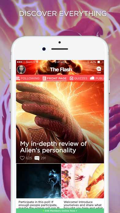 Download Amino for The Flash for Android