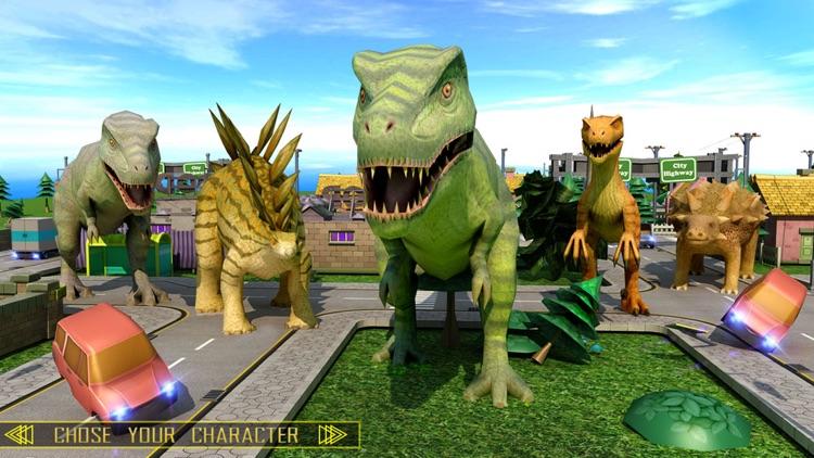 Wild Dino City Attack screenshot-4