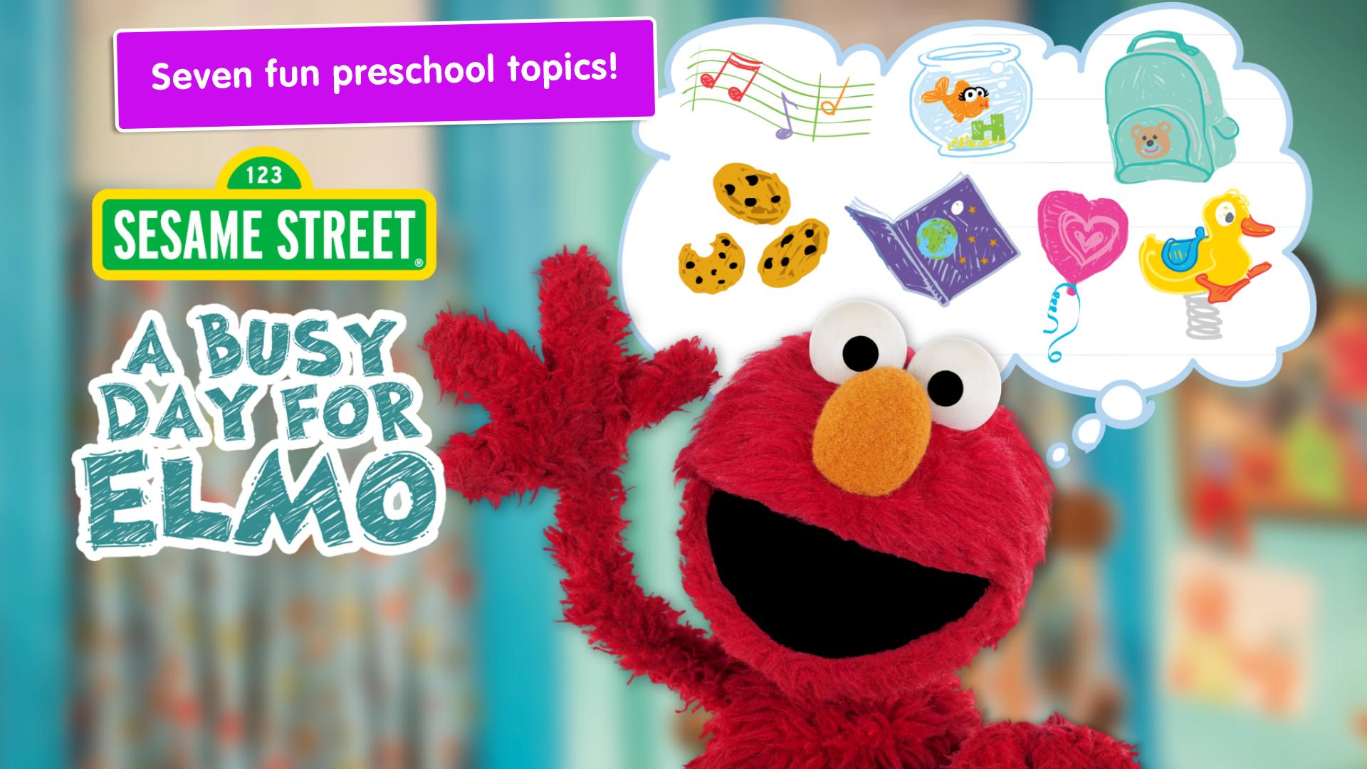 A Busy Day for Elmo: Sesame Street Video Calls screenshot 11