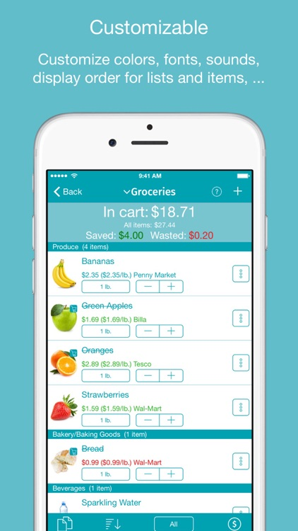IntelliList - Shopping List screenshot-3