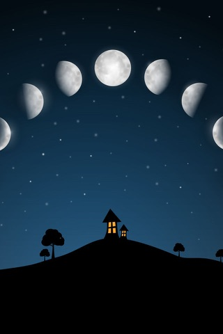 Moon phases calendar and sky screenshot 1