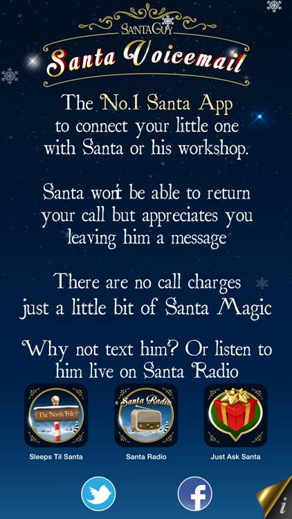 Santa Voicemail screenshot-4