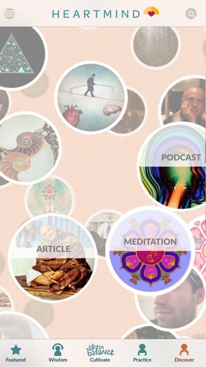 HeartMind - Free Podcast & Meditation App screenshot-4