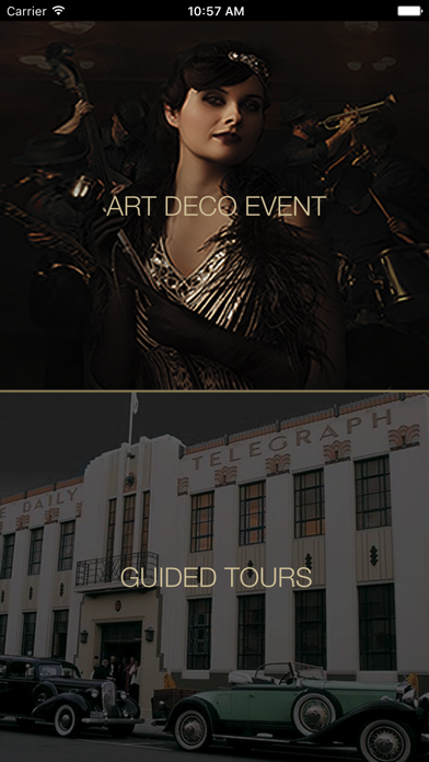 app shopper art deco napier entertainment. Black Bedroom Furniture Sets. Home Design Ideas