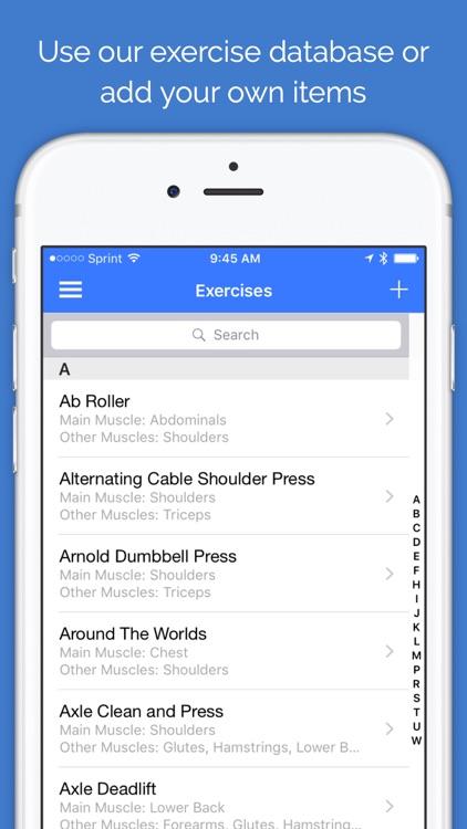 Fit Weightlift screenshot-3