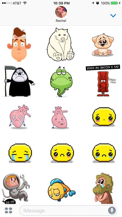 Sad Stickers