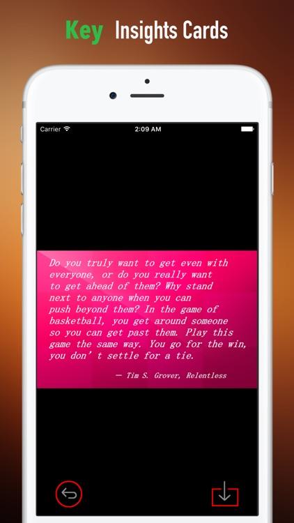 Quick Wisdom from Relentless:Practical Guide- screenshot-3