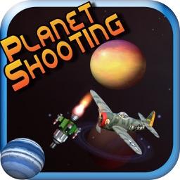 Planet Shooting Game