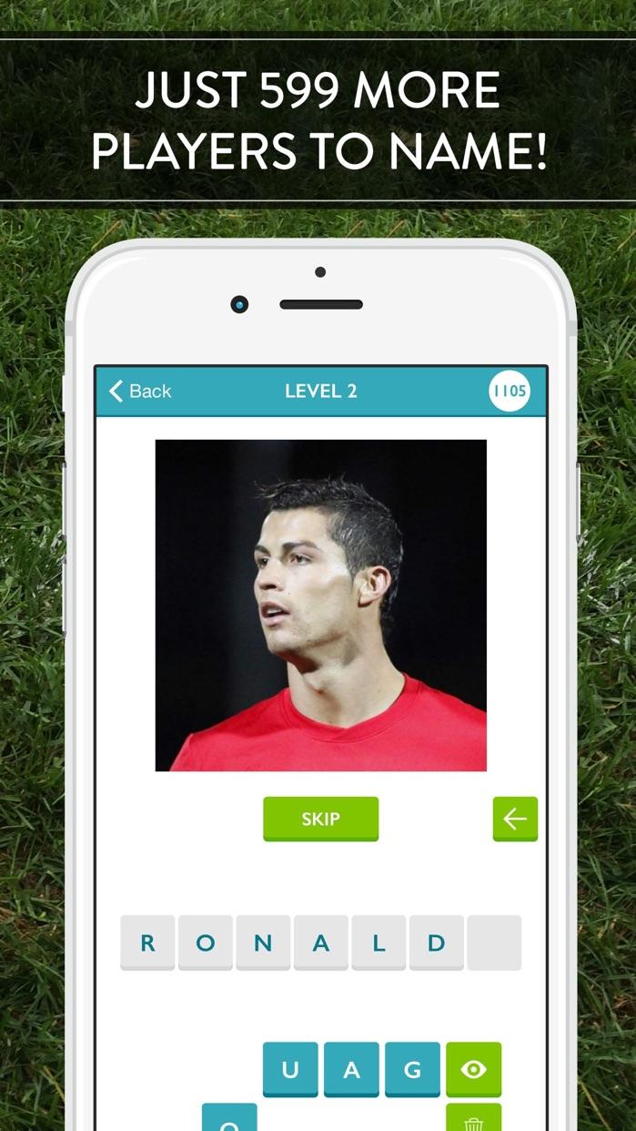 Guess The Soccer Player! Screenshot